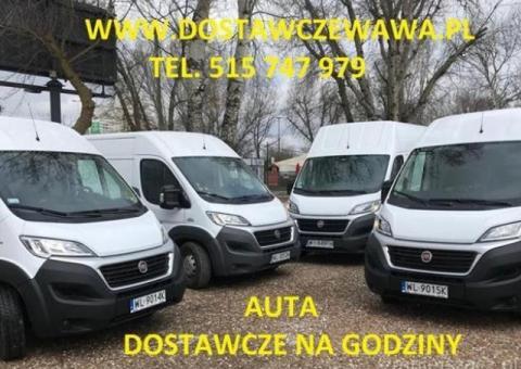 Auta dostawcze - tanio,  Warszawa